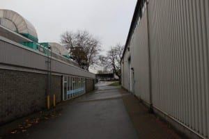 Guichon Alley (Picture taken in November 2012) - Before restoration