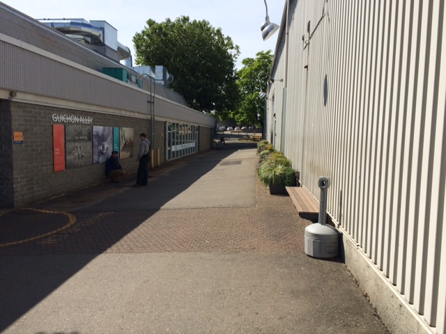 Guichon Alley - After intervention by numerous BCIT students from various Trades and Technology programs