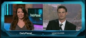 David McKay's appearance on Daily Planet