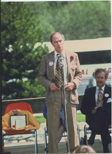 Pierre Trudeau at BCIT, April 25, 1979