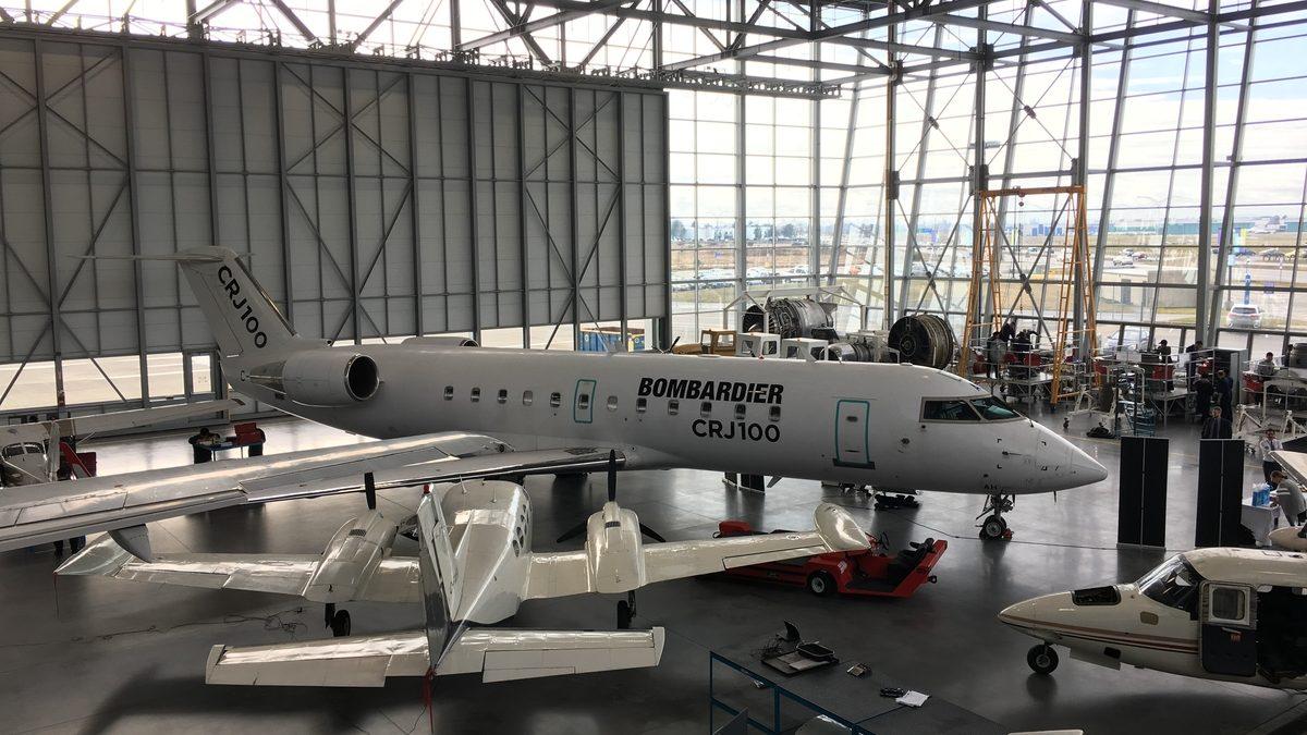 Bombardier CRJ100 - BCIT ATC