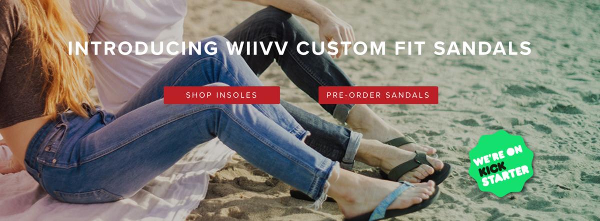 Wiiv sandals-BCIT-Kickstarter-MAKE+