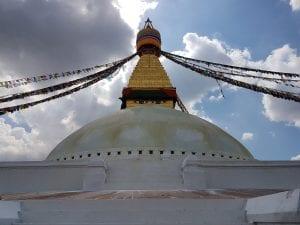 Boudha Stupa Temple, Nepal.