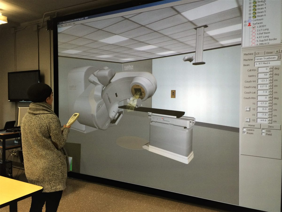 VERT Virtual Environment for Radiotherapy Training BCIT BCIT News