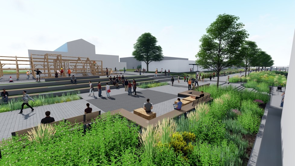 BCIT North Campus Infrastructure Project wins Envision Gold