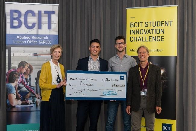 BCIT-Student Innovation Challenge Entrepreneurship winner