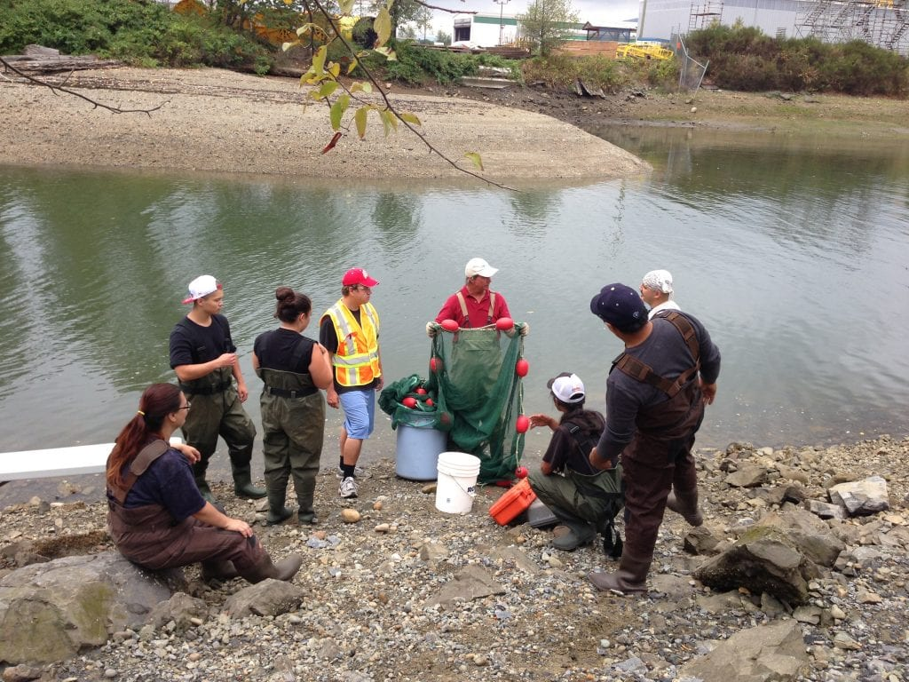 BCIT Ecological Restoration students working