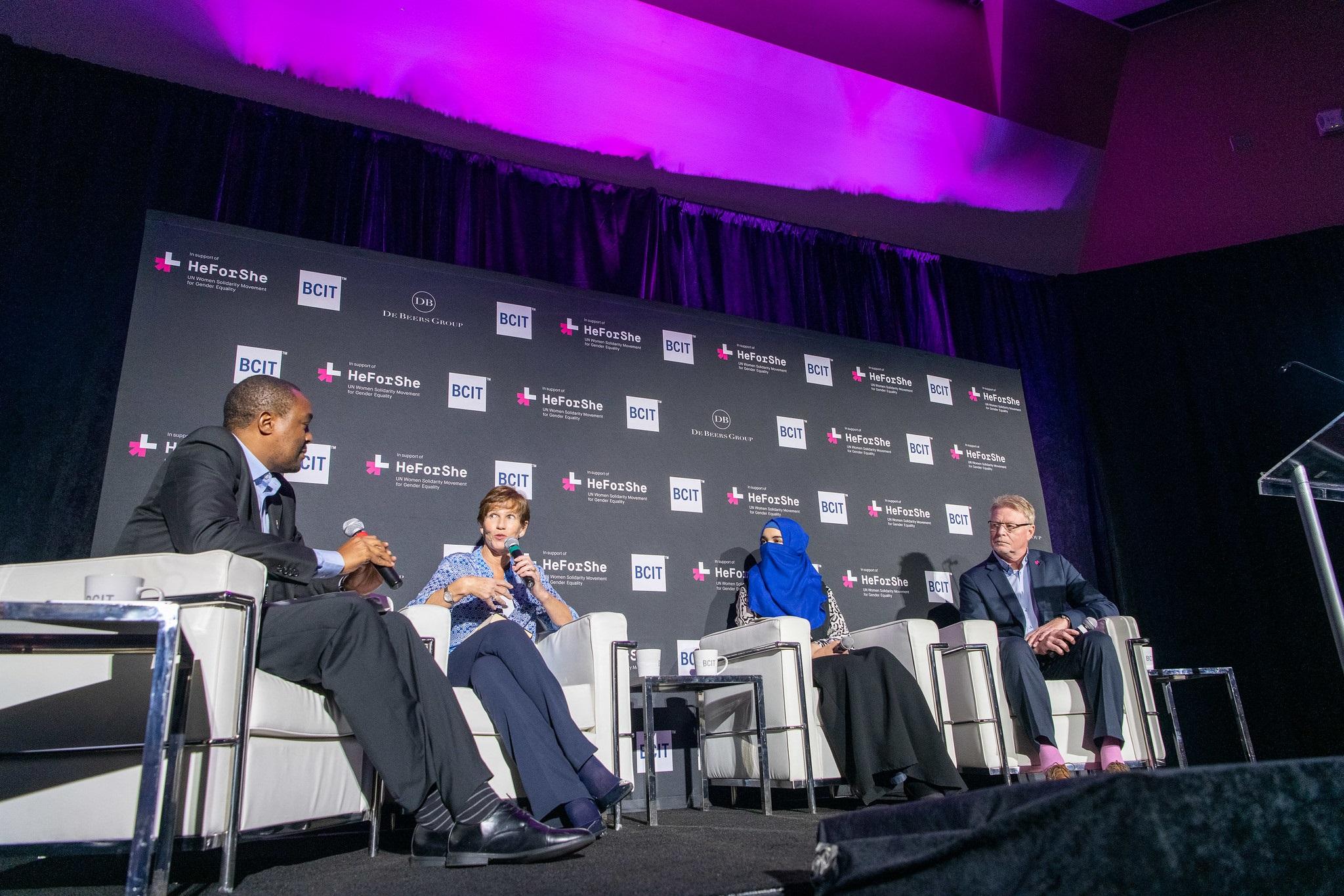 HeForShe panelists