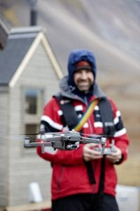 BCIT-Eric Saczuk drones for climate change research
