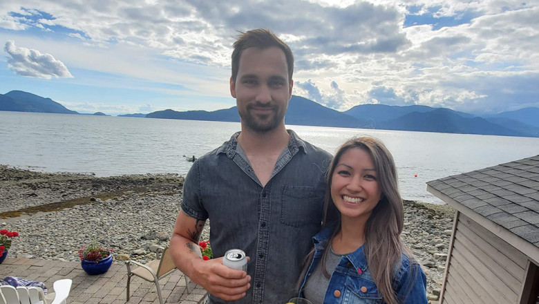 Stephanie Ly and Jesse Livingston met at BCIT but it was a chance encounter on Bumble that sparked romance for the couple. Stephanie is currently working towards her Project Management Associate Certificate at BCIT. Jesse has completed Level 2 of BCIT's Harmonized Carpentry Apprenticeship program.