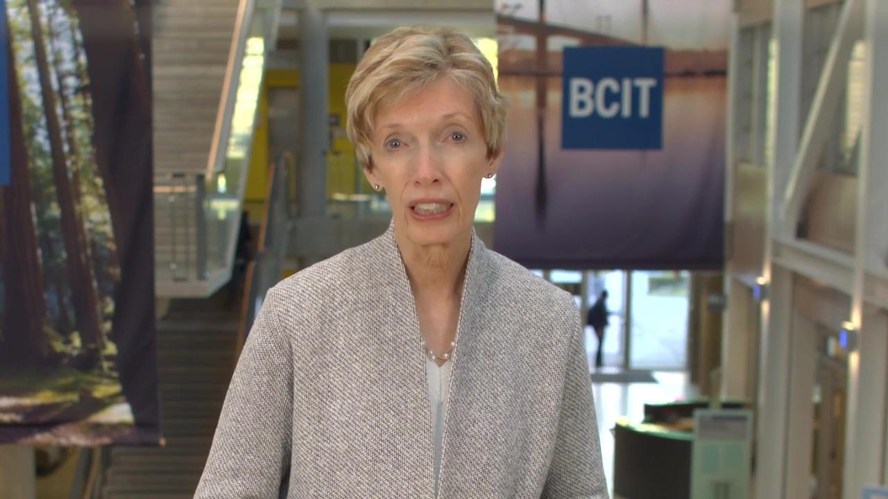 BCIT President Kathy Kinloch