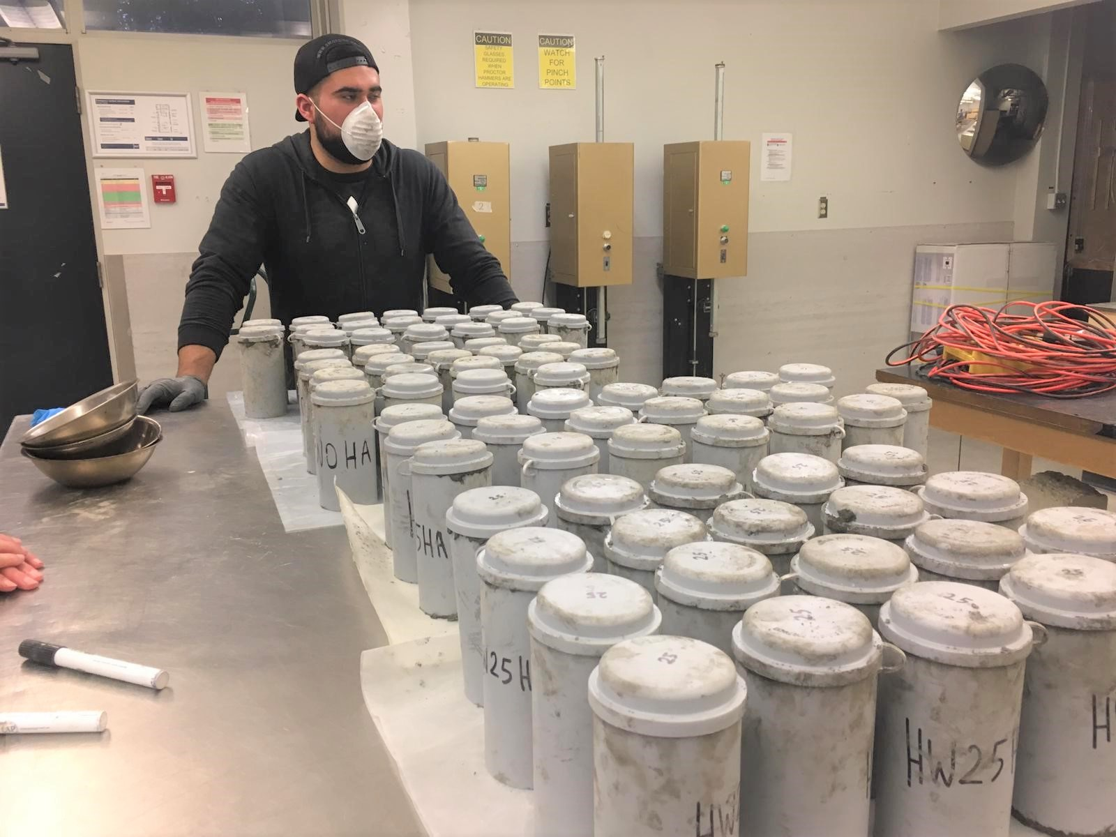 BCIT research team finds hemp waste as cement replacement