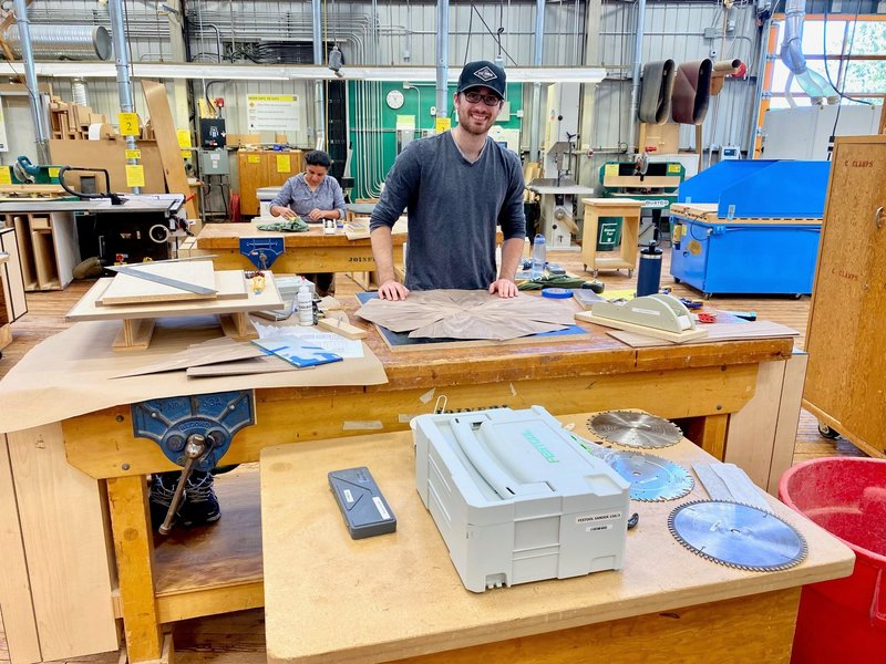 BCIT implements enhanced protocols to safely welcome Joinery students back on campus
