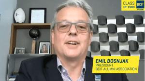 BCIT Graduating Celebration Video-Emil Bosnjak, President, BCIT Alumni Association