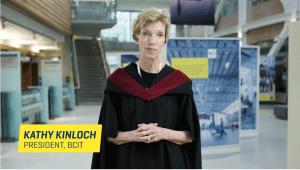 BCIT Graduating Celebration Video-President Kathy Kinloch