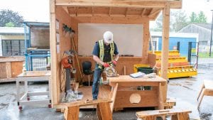 Safety protocols in place to welcome BCIT Carpentry students back in their shops