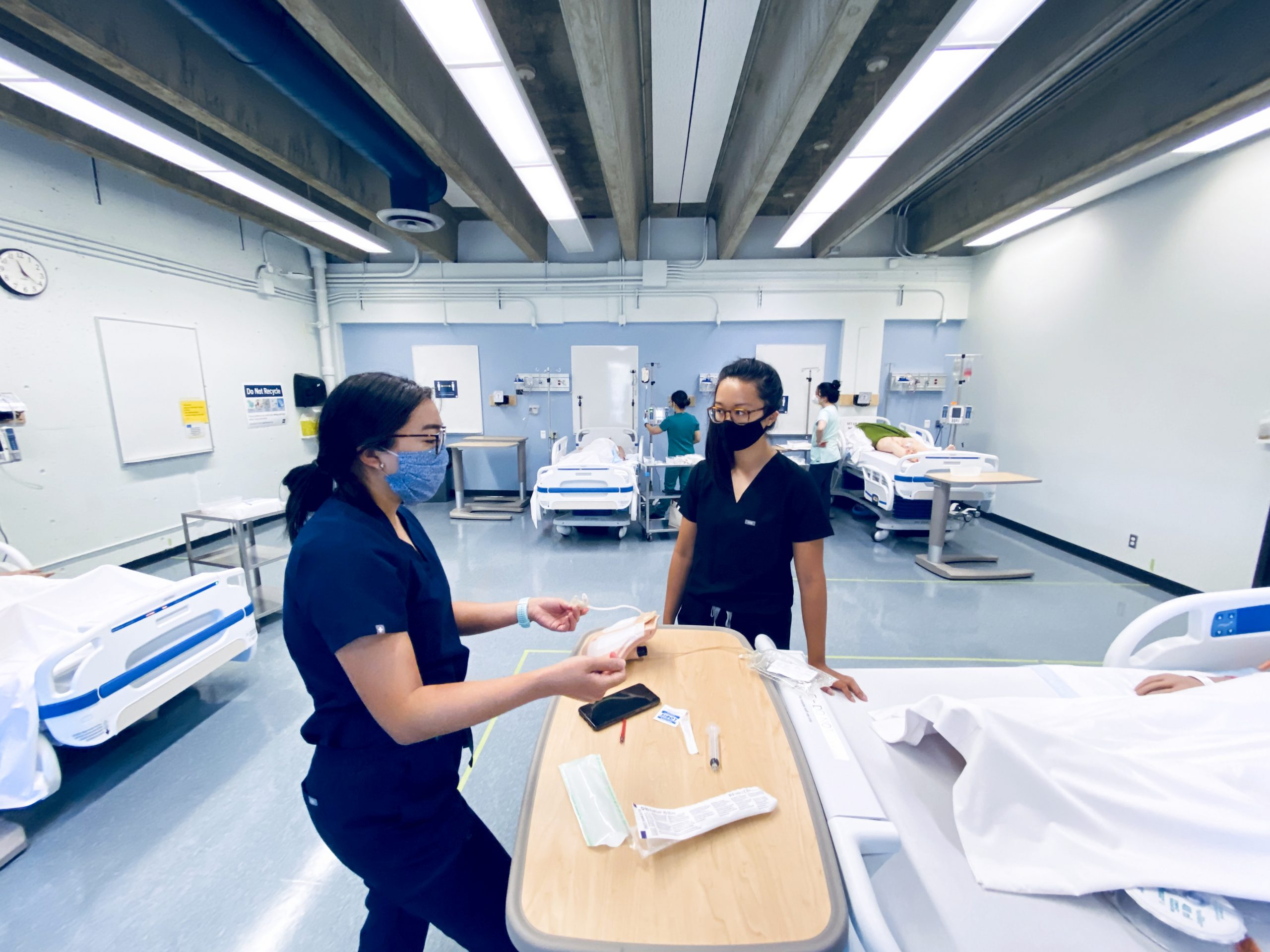 Clinical experience is valuable for BCIT Nursing students