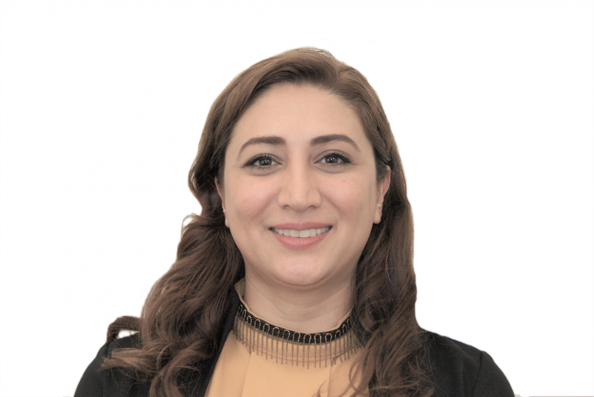 Solmaz Talebipour smiles (about her career move to IT?)