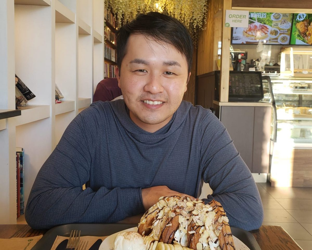 BCIT grad Eric Wong who did an IT internship